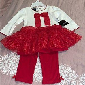 Toddler girl holiday set